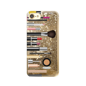 Makeup Liquid Glitter iPhone Case