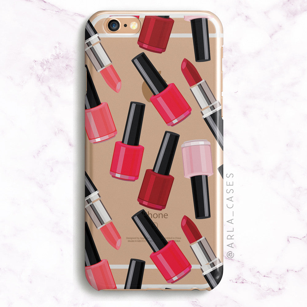 Nail Polish Pattern Phone Case
