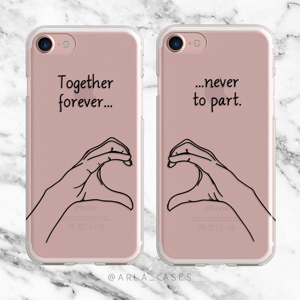 Hand Heart Phone Case Set