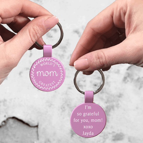 Mom's Sweetest Keychain - Custom