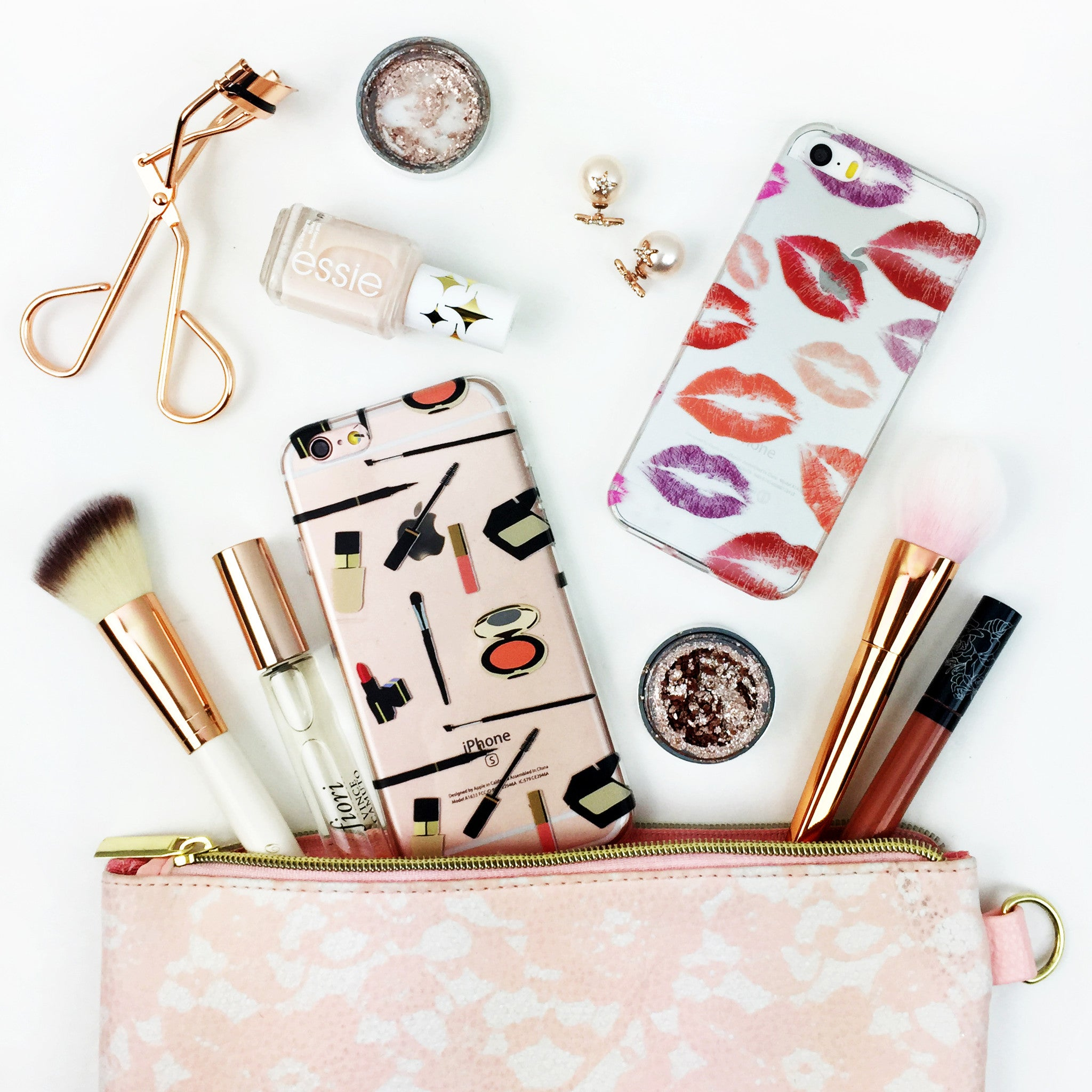 Lipstick and Makeup iPhone Cases