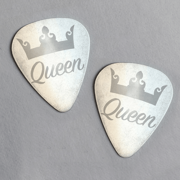 Couples Steel Engraved Guitar Pick