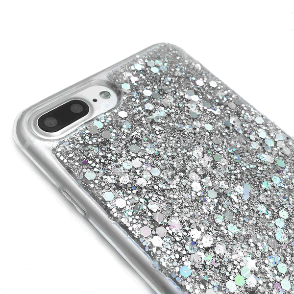 Dachshund Dogs Silver Glitter Phone Case