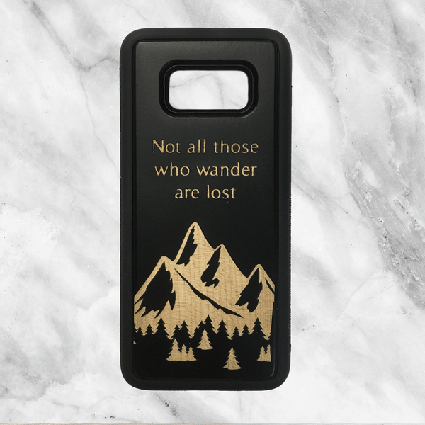 Forest Mountains with Your Quote