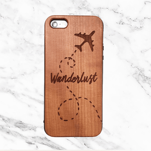 Wanderlust Wood Phone Case