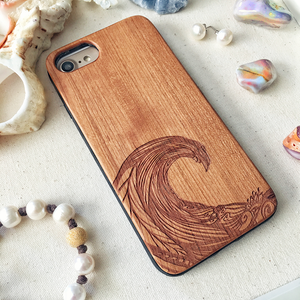 Ocean Wave Wood Phone Case