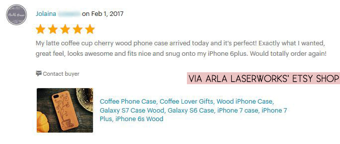 Wood Coffee Phone Case - Hot Cup of Coffee Wooden Phone Cover