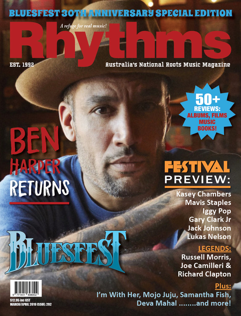 RHYTHMS BYRON BLUESFEST 2019 30TH ANNIVERSARY EDITION - SPECIAL OFFER
