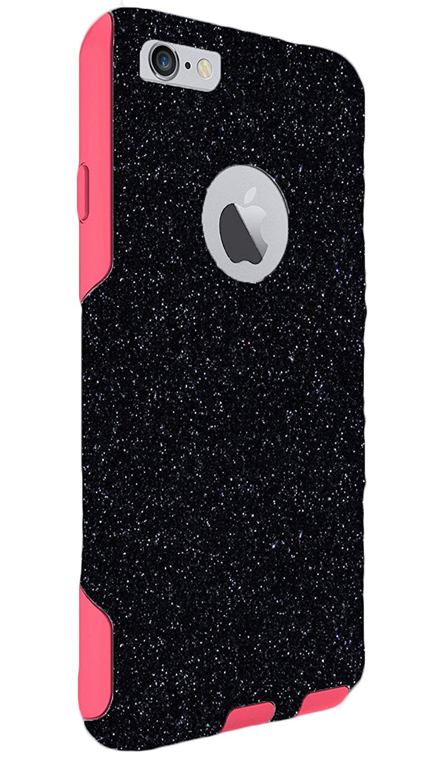best sneakers 360ac 467b3 OtterBox iPhone 6 Plus Case - OtterBox Commuter Series Custom Glitter Case  for iPhone 6 Plus, Retail Packaging - Pink Case (5.5 inch)