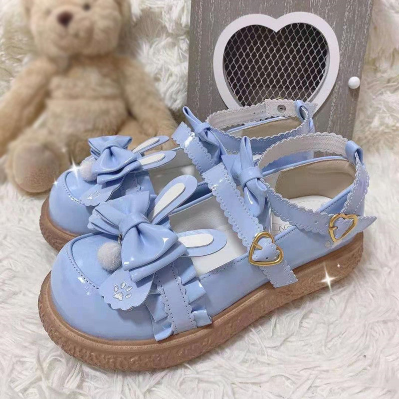 Sweetheart Bunny Butterfly Shoes SE21543