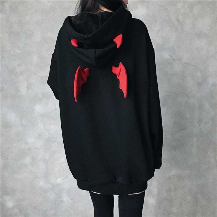 Harajuku Fly Wings Gothic Hoodies SE21060
