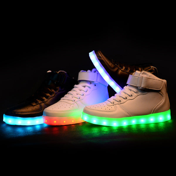 finest selection decb1 9f181 New style led light up shoes flashing sneakers SE6562 – SANRENSE
