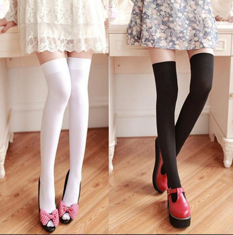 Japanese lolita cosplay student uniform stockings SE8587