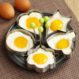 Frying egg molds