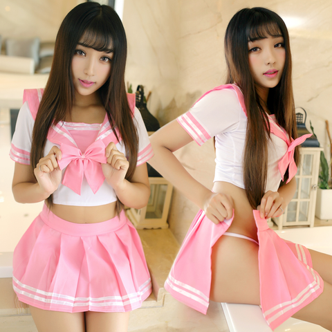Japanese cute sailor role-playing uniform suits