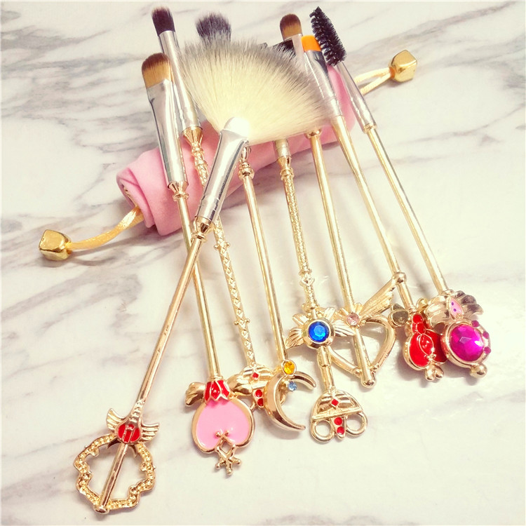 8PCS Sailor Moon Make-Up Brush SE11016