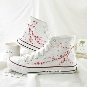 Japanese Cherry Blossom Shoes SE21052