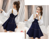 Fashion Shirt + Cowboy Dress Two-Piece SE11075