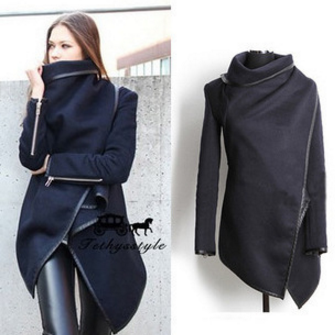 Women's Irregular coat SE10763