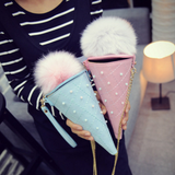 Kawaii ice cream cone bag
