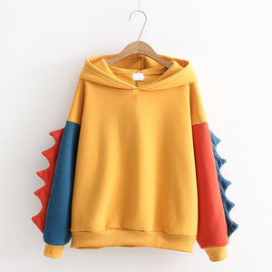 Dinosaur Monster Fleece Hoodie SE20131