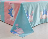 Cute totoro students bed sheet set