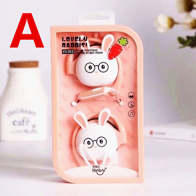 Cute Kawaii Cartoon Modelling Phone Headset Line SE11091