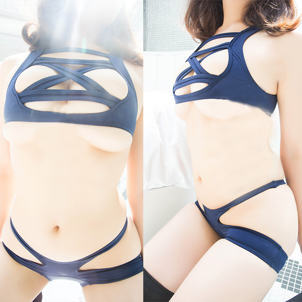 Lace -Up Swimsuit SE6981
