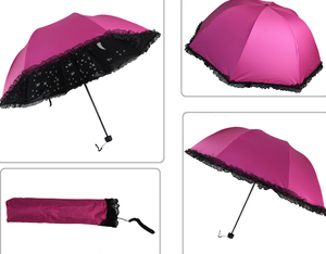 Starry Lace Foldable Umbrella SE3521
