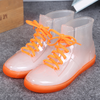 Candy Color Transparent Rain Boots SE9140