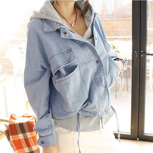 Cute fashion hooded fleece cowboy two-piece outfit SE4916