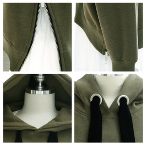 Fashion Zipper Hoodie Pullover SE0126
