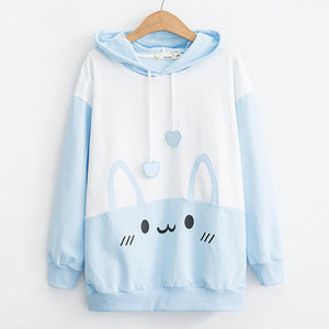 Cute Big Rabbit Ears Hoodie SE20201