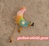 Gradient Moon Star Hairpin SE10471