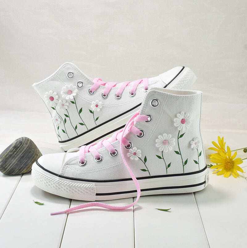 Flower Hand-painted Shoes SE21507