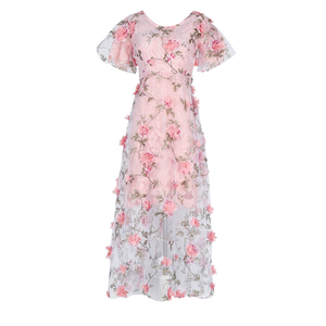 Sweet Flowers Pink Dress SE8224