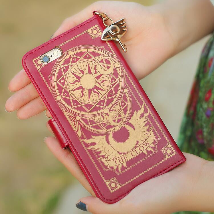 Cartoon Card Captor Sakura The Clow Phone Case