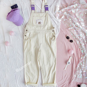Bear Purple Strap Trousers SE20947