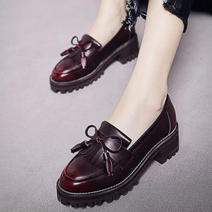 Bow Tassel Shoes SE20831