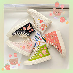 Burger Strawberry Bear Shoes SE21383