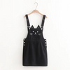 Black/White Cat Straps Skirt SE11080