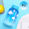 Galaxy Starry Glass Water Bottle SE11220