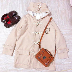 Cartoon Bear Hoodie Coat SE20506
