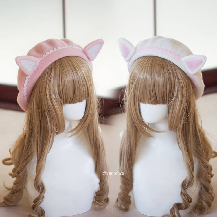 Cat Ear Beret Students Cap SE21408