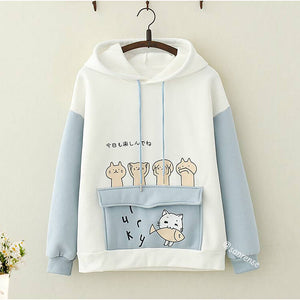 Cat Fish Hoodies SE21067