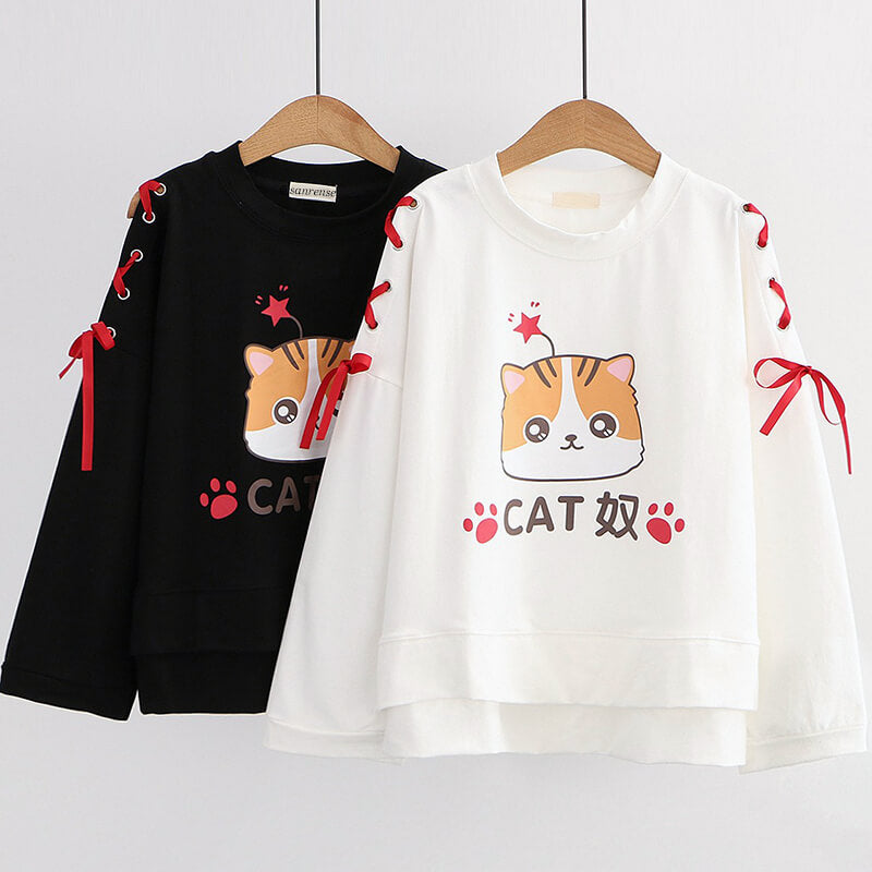 Cat Paw Cat Sweatshirt SE21173