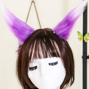 Cosplay Plush Wolf Cat Fox Ear Hair Clip SE20525