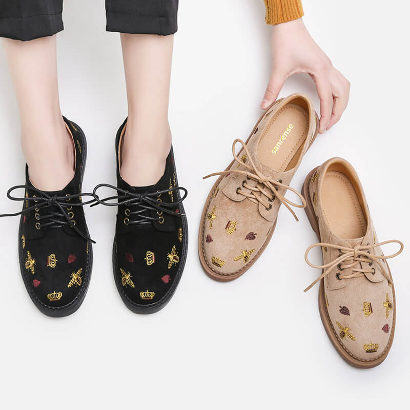 Crown Bee Shoes SE20848