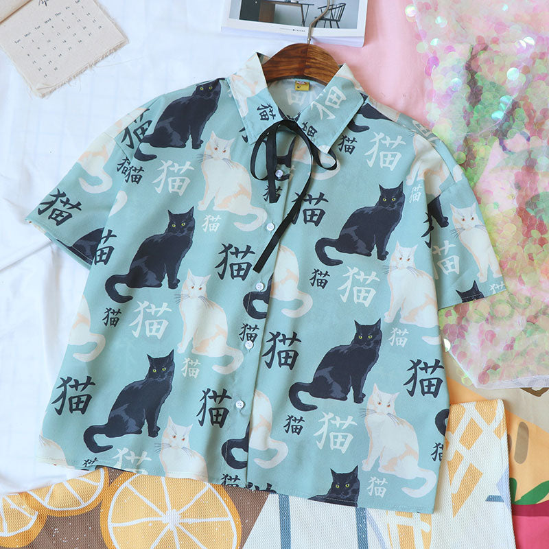 Cute Cat Shirt SE20366