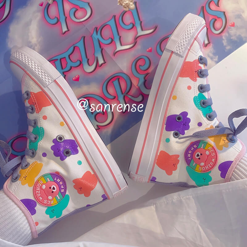 Cute Bear Canvas Shoes SE20934